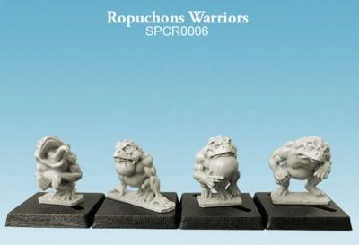 Ropuchons Warriors (10mm) (4)