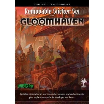 Gloomhaven - Removable Sticker Set - ENG