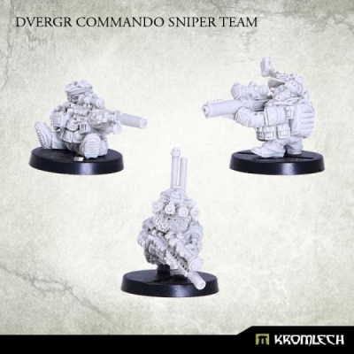 Dvergr Commando Sniper Team