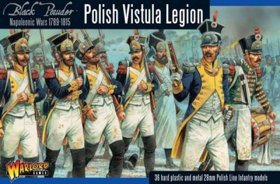 Napoleonic War Polish Vistula Legion (32) (OOP)