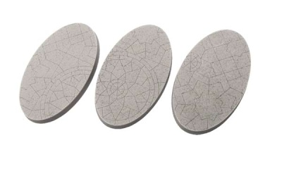 Mosaik Bases, Oval 75mm (2)