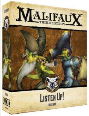 Malifaux (M3E): Listen Up!