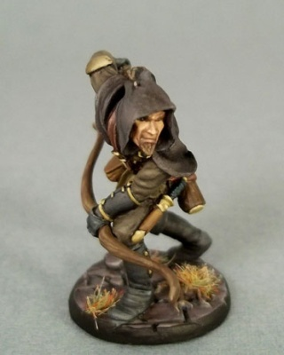 Male Thief/Ranger with Bow