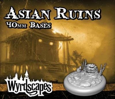 Wyrdscapes - Asian Ruins 40mm Base (2)