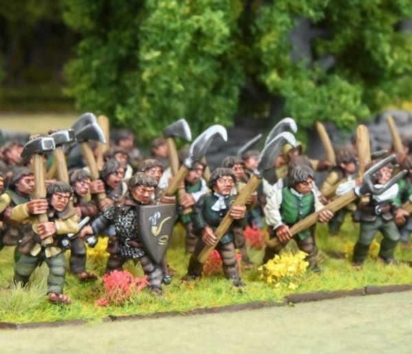 Halfling Spearmen (10)