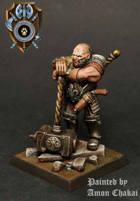Talliareum Ogre Mercenary Halfbreed Champion