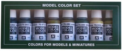 Vallejo Model Color: Set 08: Panzer Colours (8 Farben)
