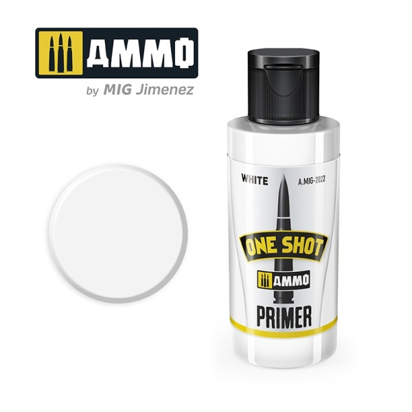 One Shot Primer: White 60ml