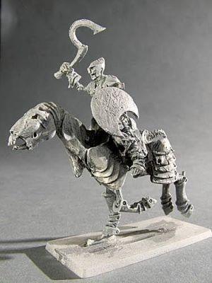 Berittener Skelettkrieger III