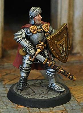 Paladin in Plate Armour