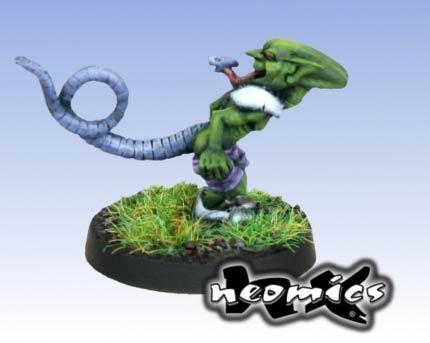 Goblin Mutant mit Schwanz