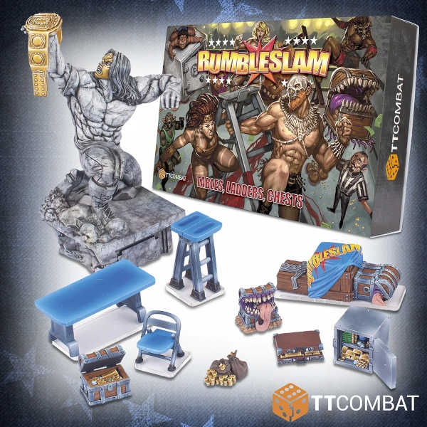 RUMBLESLAM - Tables, Ladders, Chests