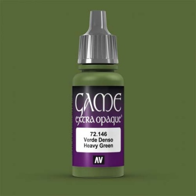Game Color Extra Opaque Heavy Green 17 ml