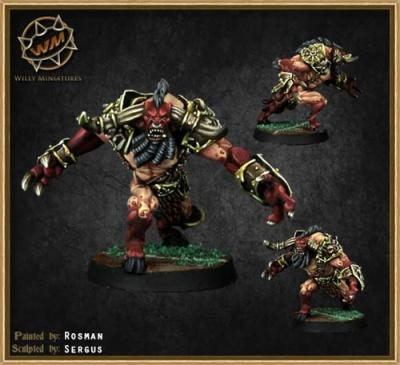 Chaos Dwarf Minotaur