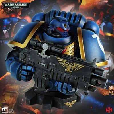 Primaris Ultra Marines Bust - Warhammer 40K