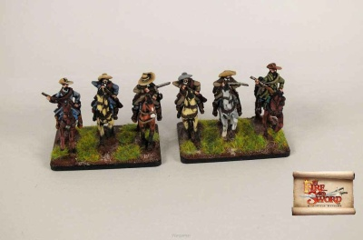 Imperial cuirassiers with arquebuses (6)