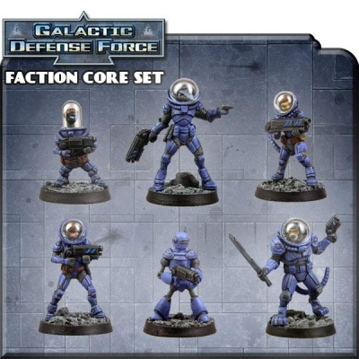 Counterblast Adventure Battle Game GDF Faction Core Set