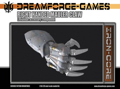 Mauler Claw Leviathan Weapon Right Handed (28mm)