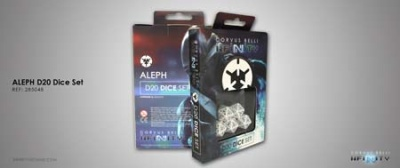 ALEPH D20 Dice Set (5)