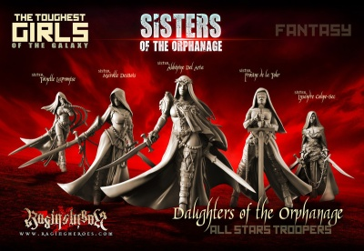 Daughters of the Orphanage - All Stars Troopers (Sisters - F