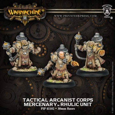 Mercenary Tactical Arcanist Corp Unit (3)
