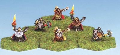 Dwarven Priests (6)
