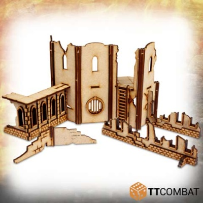 Savage Domain: Castle Town Walls