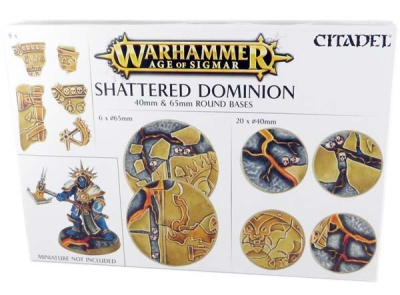 Shattered Dominion: Rundbases (40 mm & 65 mm)