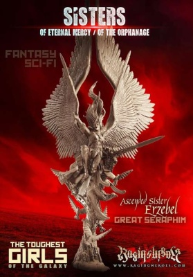 Erzebel, Ascended Sister and Great Seraphim (Sisters F/SF)