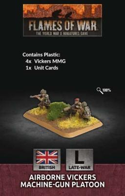 Airborne MMG Platoon (x4 Plastic)