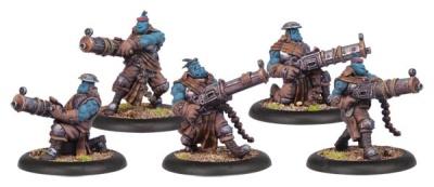 Trollblood Trollkin Slugger Unit (5)