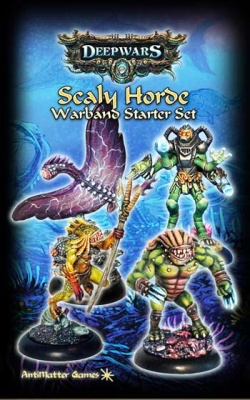 Scaly Horde Warband Starter Set  (4)