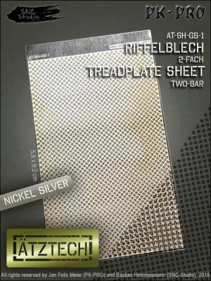 Ätztech Riffelblech 2-fach