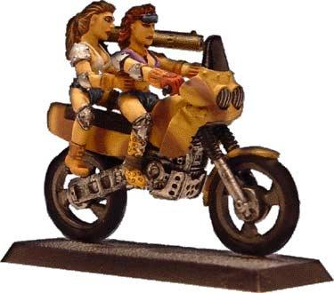 Motocross der Amazonen