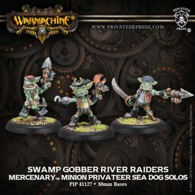 Mercenary Sea Dog Solos Swamp Gobber River Raiders (3)