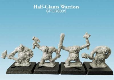 Half-Giant Warriors (10mm) (4)
