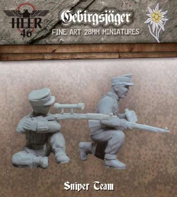 Gebirgsjäger Sniper Team