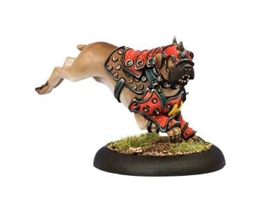 Khador War Dog Warcaster Attachment