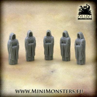 Monks Statue (5pcs)