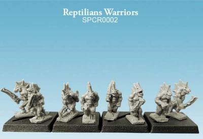 Reptilians Warriors (10mm) (8)