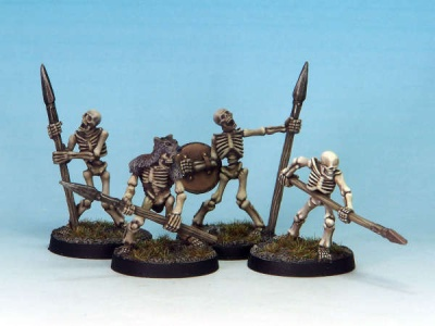 Skeleton Spears (4)