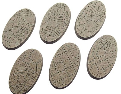 Mosaic Bases, Ellipse 60mm (4)