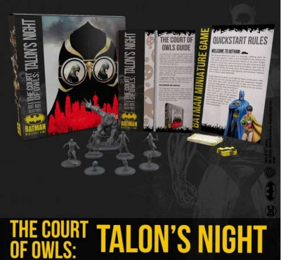 The Court of owls: Talon´s Night