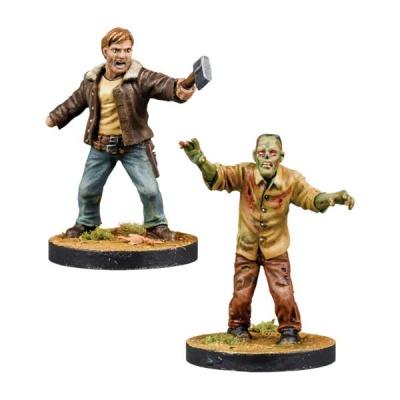 Walking Dead Rick, Alexandria Leader Booster