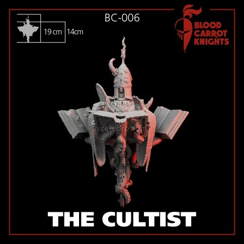 Cultist Bust 1/10