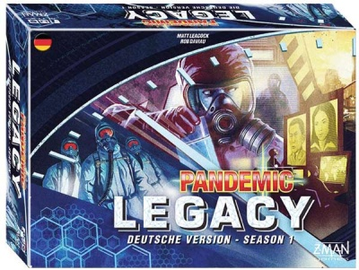 Pandemic Legacy - Season 1 BLAU -Deutsch-