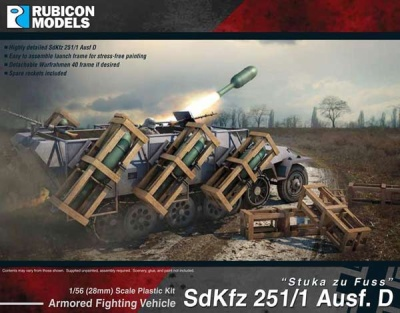 SdKfz 251D Stuka zu Fuss