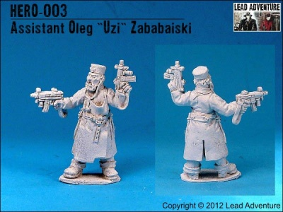 """Assistant, Oleg """"Uzi"""" Zababaiski (1)"""