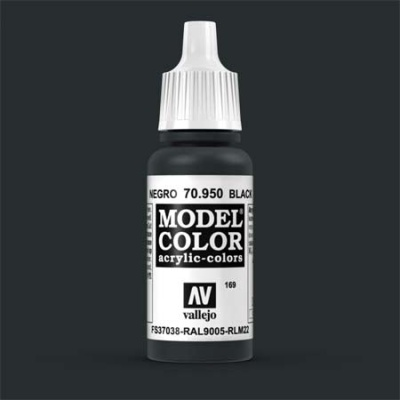 Model Color 169 Signalschwarz (Black) (950)