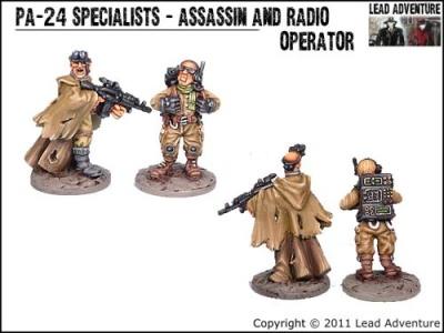 Assassin and Radio Operator (2)